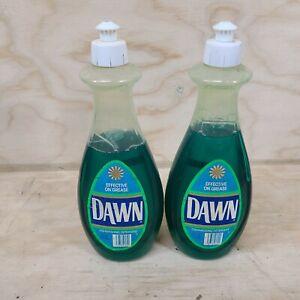 Vintage DAWN Original Scent DISH WASHING SOAP  22 Oz Lot Nearly Full