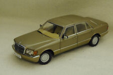 1/18 Mercedes 560 SEL W126 gold MCW Norev