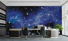 3D Sky Star Universe Self-adhesive Removeable Wallpaper Wall Mural Sticker 72