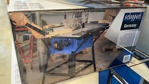 Scheppach HS110 Tischkreissäge Kreissäge Mehrzwecksäge Holzschneider NEU