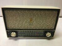 Vintage ZENITH AM/FM Tube Radio Chassis 7C02 White