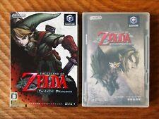 Legend of Zelda: Twilight Princess / Gamecube gc cib complete box manual japan