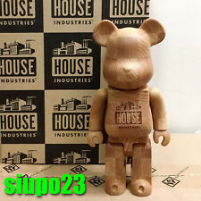 Medicom 400% Bearbrick ~ House Industries Chess Wood Be@rbrick