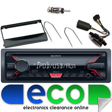 Ford Escort 96-00 SONY MP3 USB Aux Ipod Car Radio Steering Interface Kit FD01