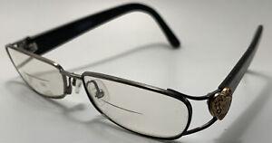 GUCCI GG2887 UCV Eyeglasses Frame Italy 55-15-130 Black/Bronze Gold