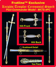 Knights Templar Past Commander Sword Masonic Freemason (KTS-3SK)
