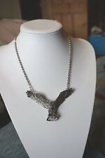 Butler & Wilson  MENS Couture Articulated Eagle & Snake Necklace