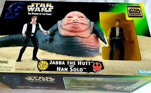 Star Wars Jabba The Hutt and Han Solo