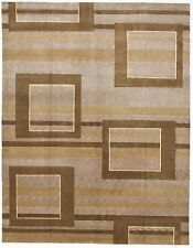 Hand-knotted Indian Modern rug. 8'x 10'