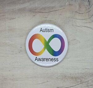 Autism Disability Awareness 58mm Pin Button Badge