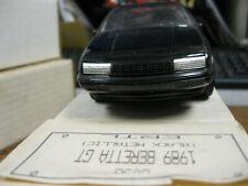 ERTL 6058 PROMO, 1989 CHEVY BERETTA GT (BLACK METALLIC)