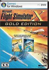 Flight Simulator X - Gold von Microsoft | Game | Zustand akzeptabel