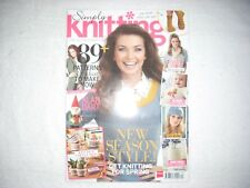 Simply Knitting Magazine Issue 118 April 2014 Season Style