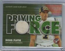 Calgary Stampeders CFL Hall of Fame Doug Flutie 2002 Topps Pristine Jersey