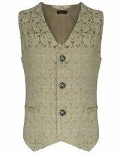 Cotton Brocade Big & Tall Waistcoats for Men