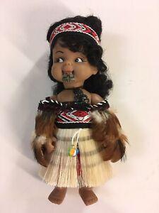 Vintage New Zealand 20 Cm Wahine FF Cloak...  Doll