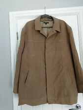 George Mens Beige XXL Cotton Coat