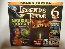 Legends Of Terror Double Bonus Edition 6 Pack PC NEW & SEALED