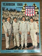 1968 United States Auto Club (USAC) Yearbook (Foyt, Dickson, Unser, Kenyon)