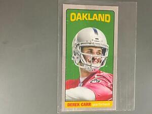 Derek Carr 2014 Topps Chrome 1965 Rookie RC Oakland Raiders #TB23 N3