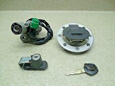02-09 Suzuki V-Strom DL1000 IGNITION SWITCH GAS CAP LOCK AND KEY SET 37000-06860