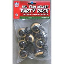 LOS ANGELES RAMS NFL Cupcake / Cake Topper Mini Football Helmets (8 ct.)