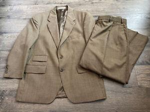 Mens Chaps Ralph Lauren suit & pant set 100% wool size 42S 36 pants