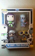 Funko POP! Minis Set D23 Exclusive Disney Pixar Remy Ratatouille Buzz Carl RARE