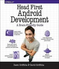 Head First Android Development, Griffiths, David, Griffiths, Dawn, New Book