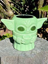 GEEKI TIKIS Baby Yoda, Mandalorian, Ceramic Tiki Mug NEW