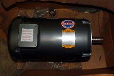1 NEW BALDOR VM3708T INDUSTRIAL MOTOR 5 HP, 3 PH, 1160 RPM *** MAKE OFFER ***