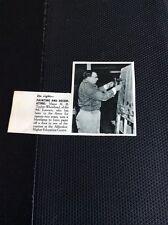 M1-1 Ephemera 1960 Picture Major H R Taylor Whitehead 9th Lancers