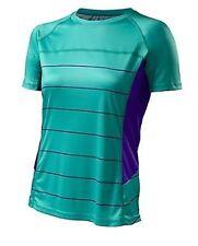 Specialized Women's Andorra Comp Cycling Jersey Emerald Green/indigo Medium