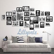 Multi Picture Photo Frames Wall Set 26 Pcs 164cm X 74cm Home Deco Collage White