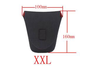 XXL Neoprene Camera Lens Bag Pouch Soft Waterproof  Protector Lenses UK STOCK
