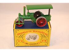 Matchbox Lesney models of YesterYear No 11 Aveling & Porter steam roller MIB
