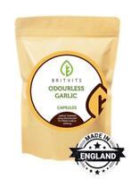 Odourless Garlic 1000mg Oil Extract 30-60-90-120-180-250-500-1000 Softgel Capsul