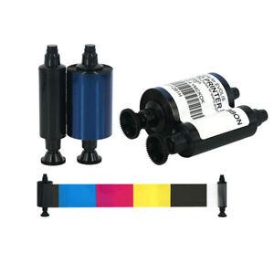 R3314 YMCKOK Ink Color Ribbon for Evolis Dualys Card Printer 200 Prints