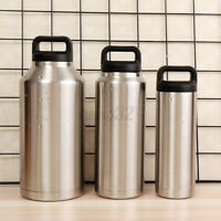 18oz/36oz/64oz Stainless Steel Vacuum Insulated Water Bottle Travel Gifts