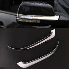 2pcs ABS Chrome Car Rearview Mirror Trim Cover Fit For Ford Explorer 2015--2017