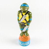 Vintage 1990 Teenage Mutant Ninja Turtle Leonardo Bubble Bath Bottle Empty TMNT