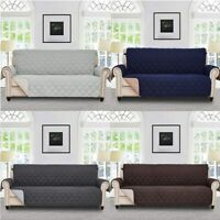 2/3/4 Seater Loveseat Sofa Cover Couch Slipcover Pet Dog Mat Furniture Protector