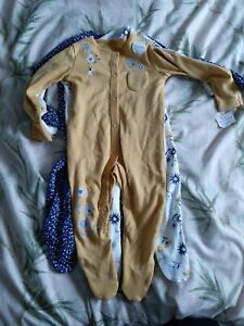 F&F Baby Sleepsuits 6-9m 3pack