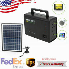 New Portable Solar Generator Solar Panel Solar Power Inverter Electric Generator