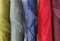 Sheer Organza Organdie Fabric Wedding Voile Drape Curtain Backdrop 150CM x 100CM