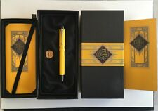 Very rare PARKER DUOFOLD MANDARIN YELLOW - 1995 - mint & boxed with papers !