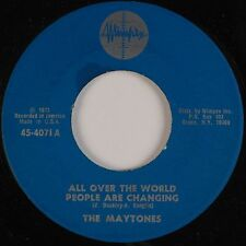 THE MAYTONES: All Over The World People Are Changing RARE JA 1973 Reggae NM