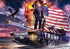 President Trump USA Leading The Way 8.5x11 Portrait Photo Amazing