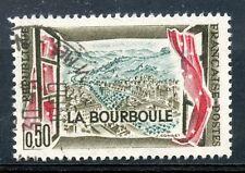 TIMBRE FRANCE OBLITERE N° 1256 THERME LA BOURBOULE  photo non contractuelle