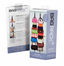 Purse rack hand bag rack by perfect curve over the door Holds up to 18 Purses